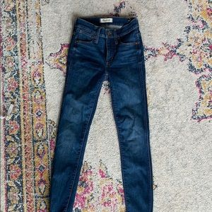 "Women's madewell 9"" high rise skinny"